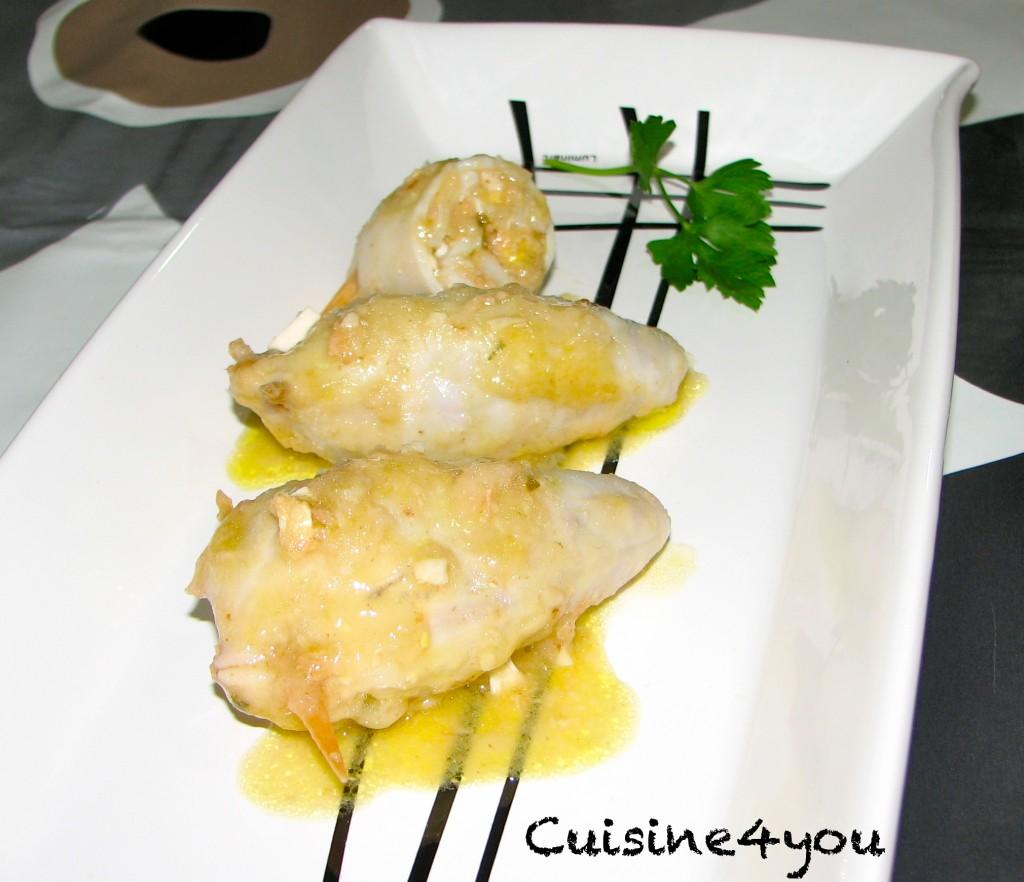 Calamares rellenos cuisine4you for Cocinar calamares pequenos