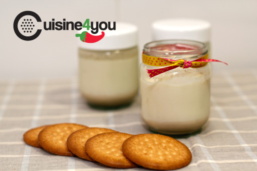 Yogur de galleta María