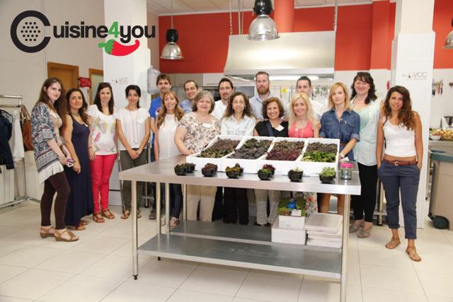 Xi evento de tweetsandfood en valencia club cocina cuisine4you - Curso cocina valencia ...